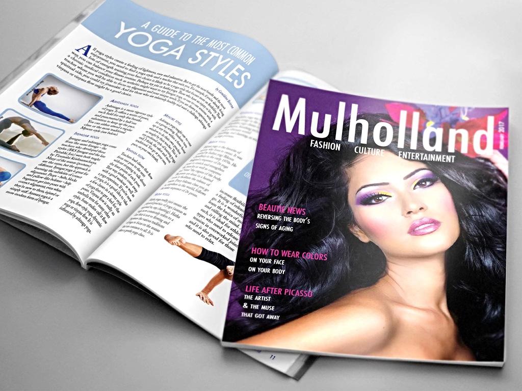 Magazine cover & Editorial spread